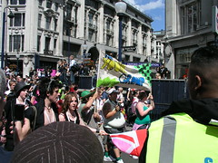 Youth group, London Pride 2008.