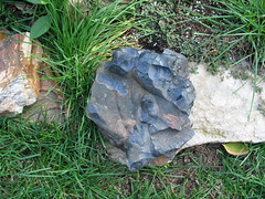 Blue Rock, Minneapolis, Minnesota, Fall Equinox, September 2007, photo © 2007-2008 by QuoinMonkey. All rights reserved.