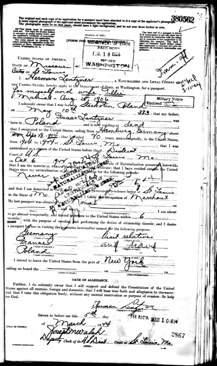 Herman Lentzner passport 1924.jpg