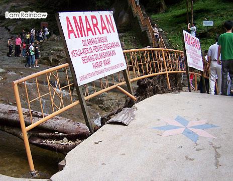 Raya @ Cameron Highlands (19) waterfall bridge