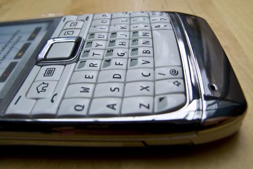 E71 keyboard
