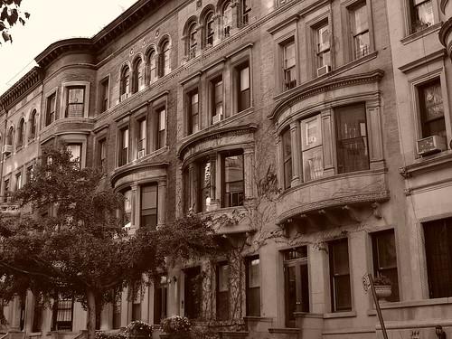 Manhattan in Sepia
