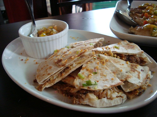 Adobo Quesadilla by Botong's Up
