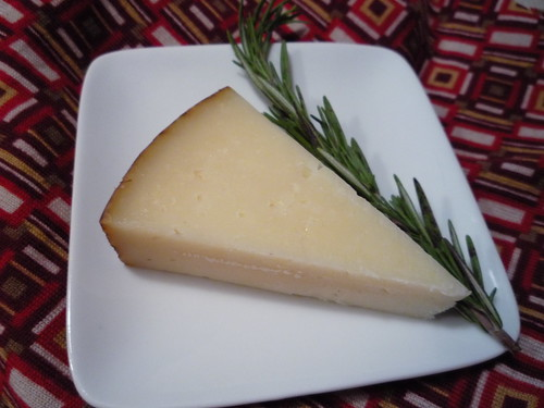 Spains best-known cheese gets some love from fragrant rosemary.