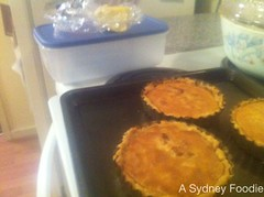 Walnut tarts with sour cream pastry by A Sydney Foodie