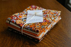 Fat quarter bundle from beesquarefabrics on etsy