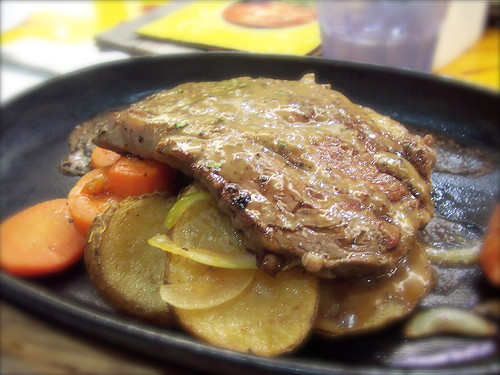 Australian Chilled Ribeye with Black Pepper Cream Sauce