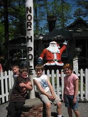 North Pole at Knoebels