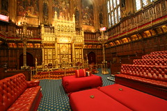 House of Lords Chamber, Westminster