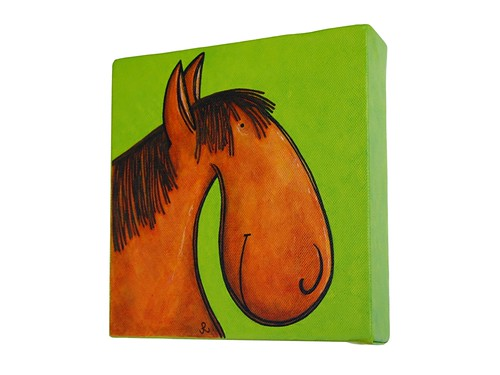 horse with no name - from side