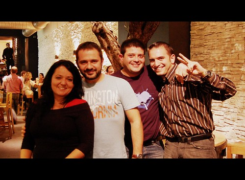 Con Chiara, Perdomo y Flapy