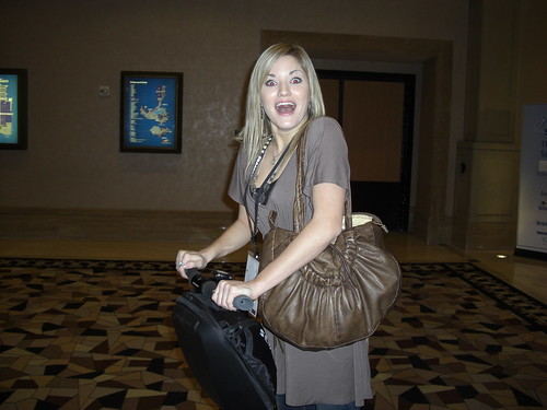 iJustine on a Segway