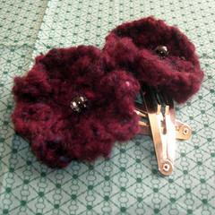 plum flower clips
