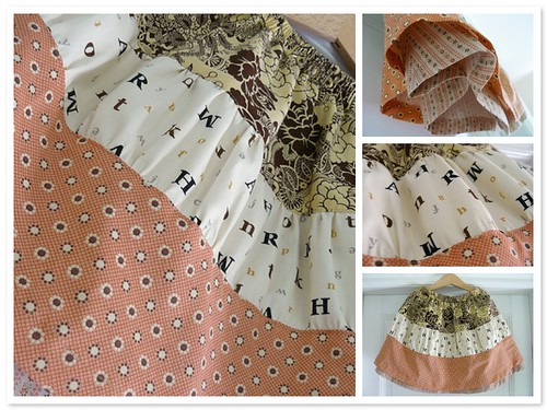 Misty skirt - mosaic