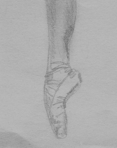 Ballerina foot