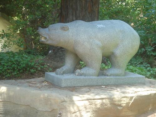 UC Berkeley 精神象徵之一_bear 1