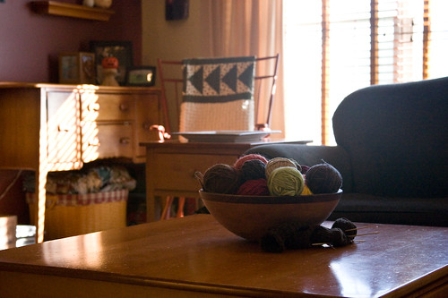 Yarn Centerpiece