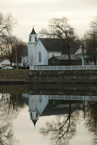Church Reflection Greene, Iowa