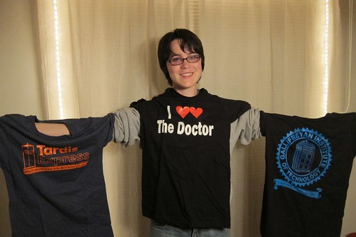 Fanime Doctor Who tshirts