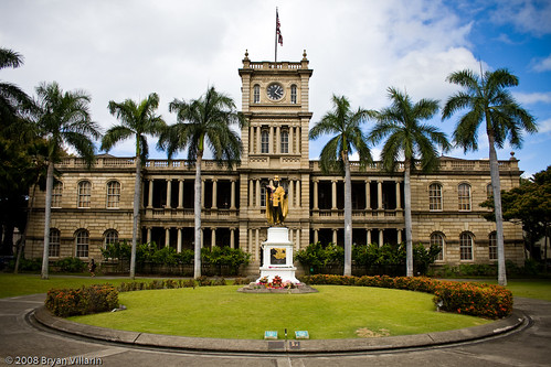 Where Kamehameha stands