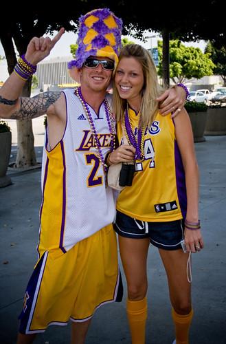 Laker Fans