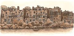 houses by hampstead heath ponds