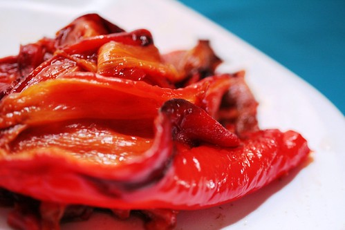Chopped roasted red pepper