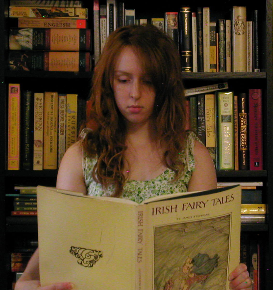 Jessica Gingerherring, The joys of the home library, 16. September 2008