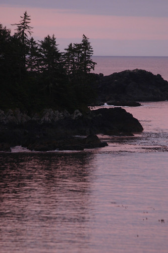 at dawn west vancouver island