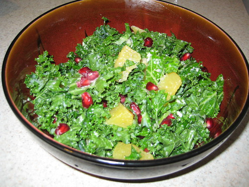 Raw kale salad 2