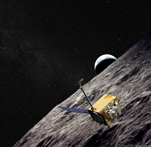 Lro autour de la Lune