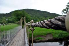 Suspension bridge Betws-y-Coed 2