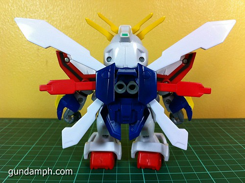SD Archive God Gundam (15) Out Of Box Review