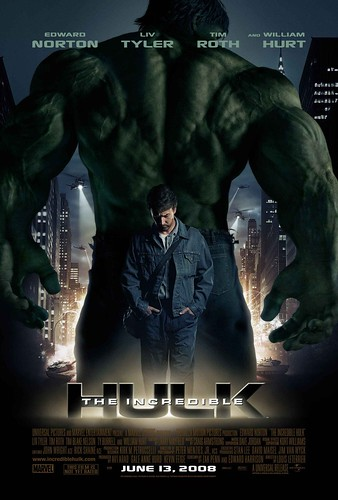 The Incredible Hulk afişi