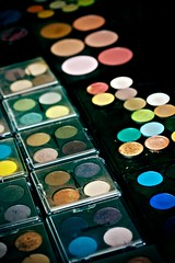 A Rainbow of Eye Shadows