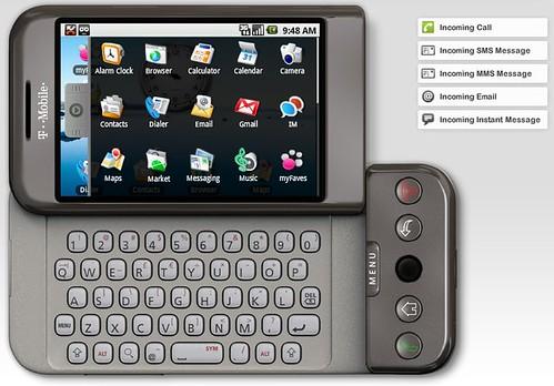 Emulator T-Mobile G1