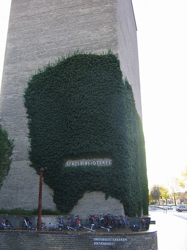 Libraryivy, Aarhus, Denmark