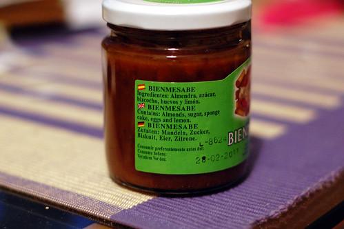 Bienmesabe Ingredients