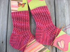 Socks for Knitty Swap Pal