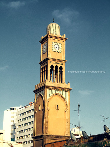 Time Minaret, Souq Qadim, Casablanca