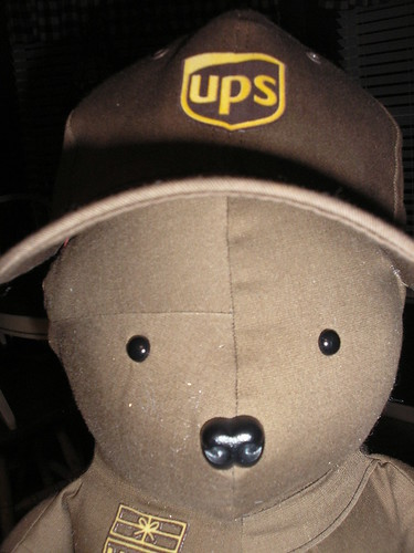 UPS Bear #1 by you.