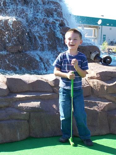 Mini Golfing Fun