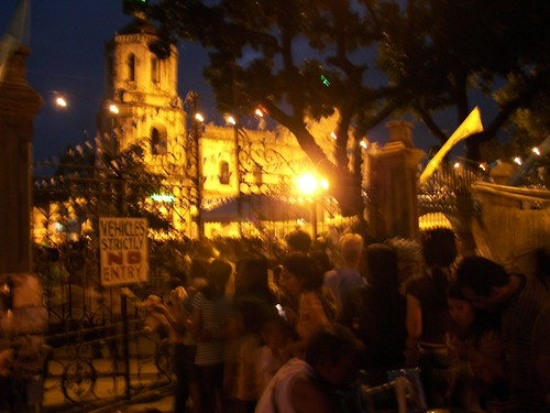 Mama Mary (Simala) Visits Cathedral by you.