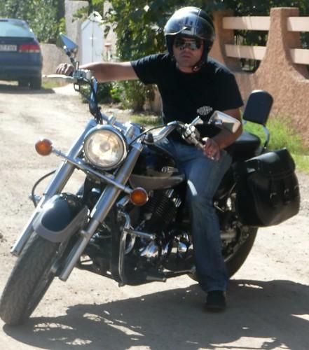 Concentración de motos en Cabo de palos