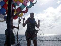 Little go-me dance as I landed