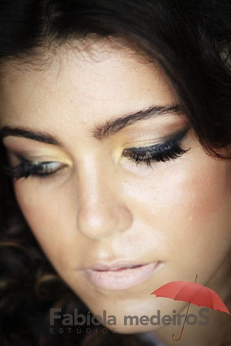 Detalhe do make up