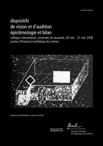 colloque Dispositifs UNIL affiche