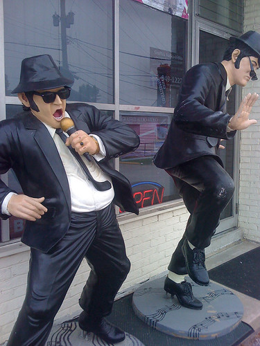 The Blues Brothers, Jake & Elwood - Taken With An iPhone