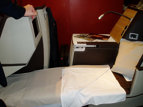 Swiss Business Class Bed