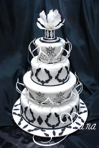 2829193058 4ba54f2c08 Baú de ideias: Decoração de casamento preto e branco
